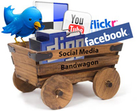 social media bandwagon image